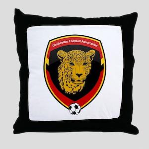 Tamileelam Football association Throw Pillow