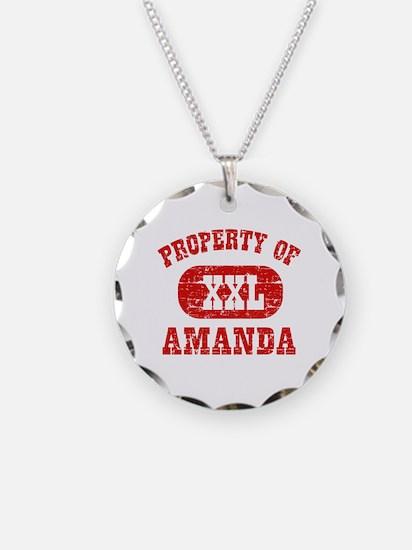 Property Of Amanda Necklace