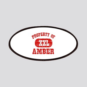Property Of Amber Patches