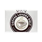 CoffeeLoversOnly Rectangle Magnet
