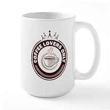 CoffeeLoversOnly Large Mug