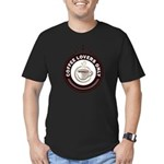 CoffeeLoversOnly Men's Fitted T-Shirt (dark)