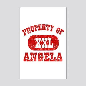 Property Of Angela Mini Poster Print