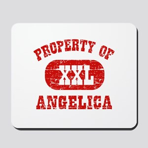 Property Of Angelica Mousepad