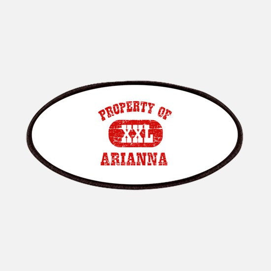 Property Of Arianna Patches