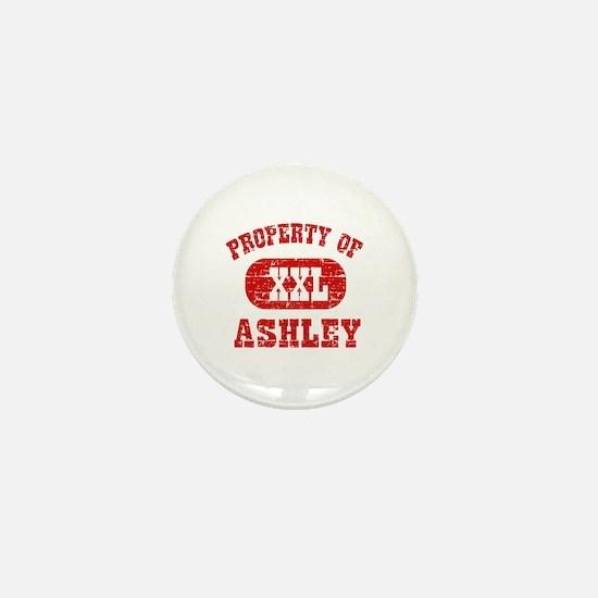 Property Of Ashley Mini Button