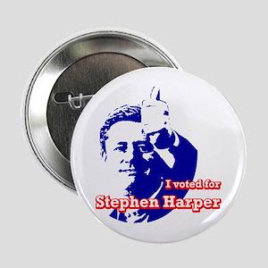 Stephen Harper Button