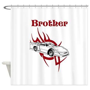 Racecar Shower Curtains