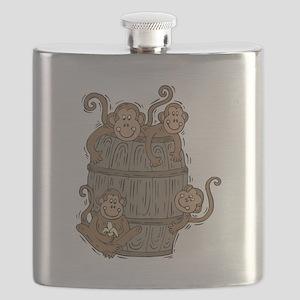 barrel of monkeys Flask