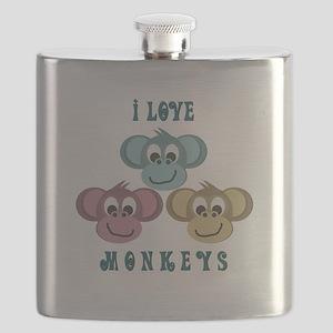 i love monkeys2 Flask