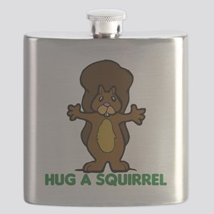 hug a squirrel Flask