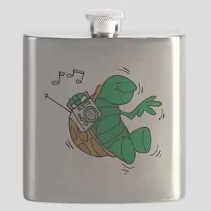 rockin turtle Flask