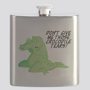 crocodile tears Flask