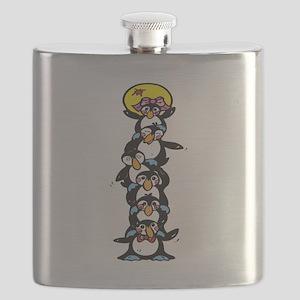 penguin totem pole Flask