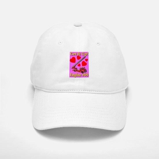 Get It Up Engine #69 Baseball Baseball Cap
