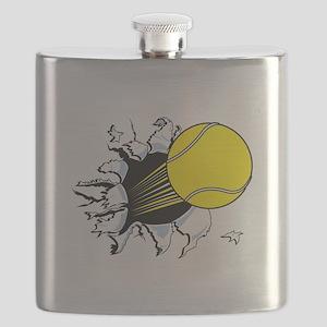 tennis ball rip thru copy Flask