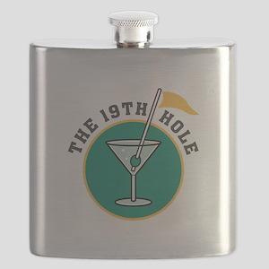 19th hole martini copy Flask