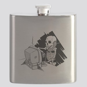 skeleton on tech support hold Flask