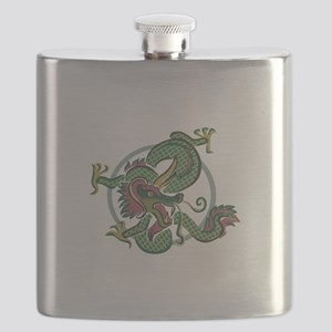 chinese dragon copy Flask