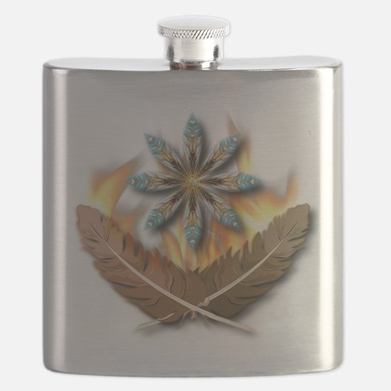 feathers.psd Flask