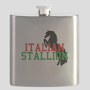 italian stallion black Flask