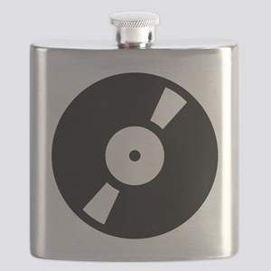 retro vinly record Flask