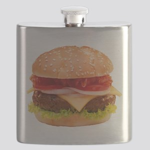 yummy cheeseburger photo Flask