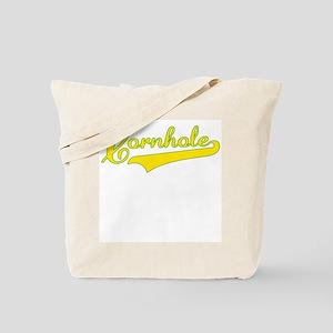 """Cornhole Swoosh"" Tote Bag"