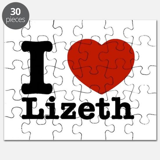 I Love Lizeth Puzzle