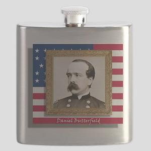 Butterfield in Frame Flask