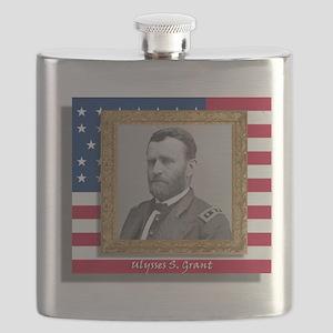 Grant in Frame Flask