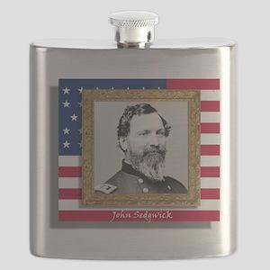 Sedgwick in Frame Flask