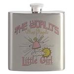 Angelic Little Girl Flask