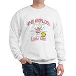 Angelic Little Girl Sweatshirt