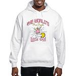 Angelic Little Girl Hooded Sweatshirt