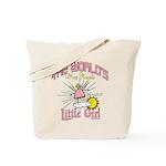 Angelic Little Girl Tote Bag