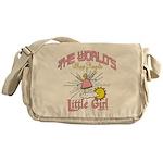 Angelic Little Girl Messenger Bag