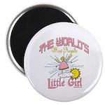 Angelic Little Girl Magnet