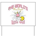 Angelic Little Girl Yard Sign