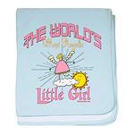 Angelic Little Girl baby blanket