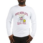 Angelic Little Girl Long Sleeve T-Shirt