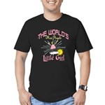 Angelic Little Girl Men's Fitted T-Shirt (dark)