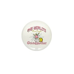 Angelic Grandmother Mini Button (100 pack)