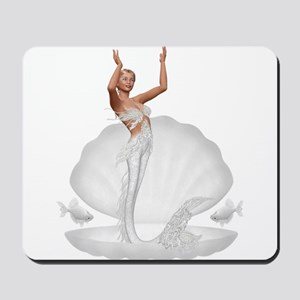 bride mermaid Mousepad