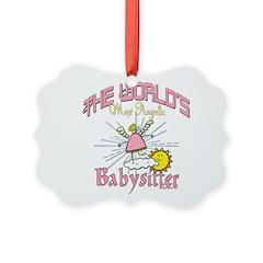 Angelic Babysitter Ornament