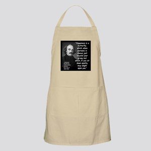 Hawthorne Happiness Quote 2 Apron