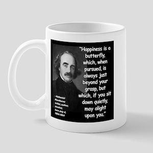 Hawthorne Happiness Quote 2 Mug