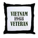 VIETNAM VETERAN 68 Throw Pillow