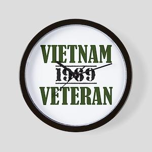 VIETNAM VETERAN 69 Wall Clock