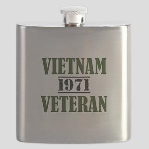 VIETNAM VETERAN 71 Flask
